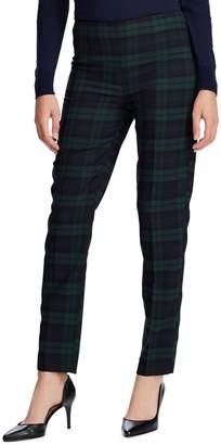 Chaps Petite Stretch Cotton-Blend Pants