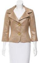 Michael Kors Brocade Silk-Blend Blazer