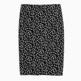 J.Crew Tall pencil skirt in daisy floral