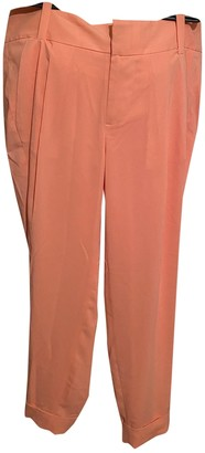 Alice + Olivia Orange Trousers for Women