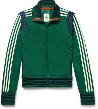 Adidas Consortium + Wales Bonner Slim-Fit Loopback Striped Jersey Track Jacket