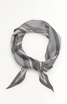 J. Jill Mixed-Stripes Silk Neckerchief