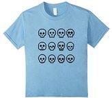 Kids Skulls Skeletons Cool T-shirt Boys Girls Surf Skate BMX Play