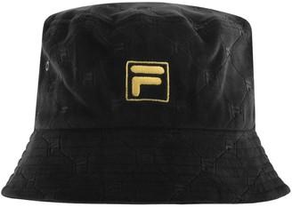 Fila Vintage Limerick Bucket Hat Black