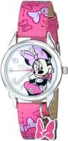 Disney Kids' MIN188 Easy Read First Analog Watch