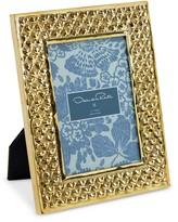 Oscar de la Renta Brass Heart Frame, 5x7