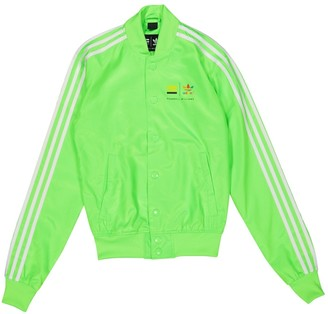 Pharrell Adidas X Williams Green Jacket for Women