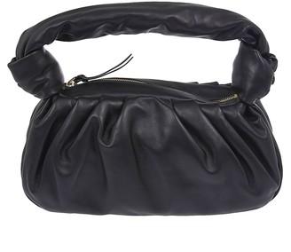 Miu Miu Top-zip Leather Handle Tote