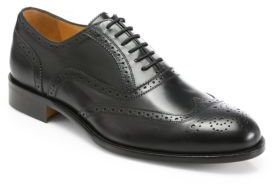 Saks Fifth Avenue Collection Truman Leather Wingtip Lace-Ups