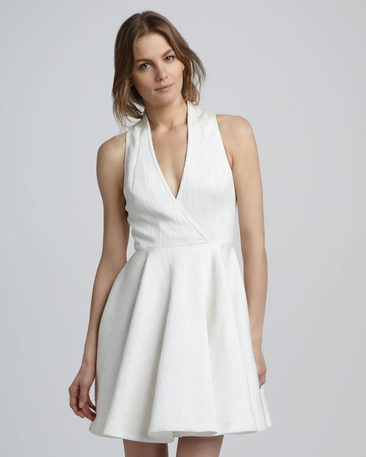 Rachel Zoe Caroline Faux-Wrap Dress