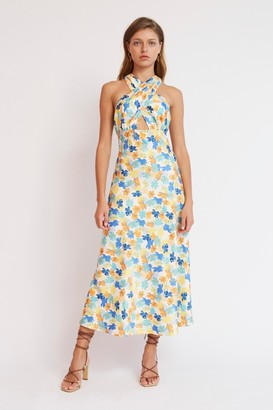 Finders Keepers SIRENE DRESS Blush Fleur
