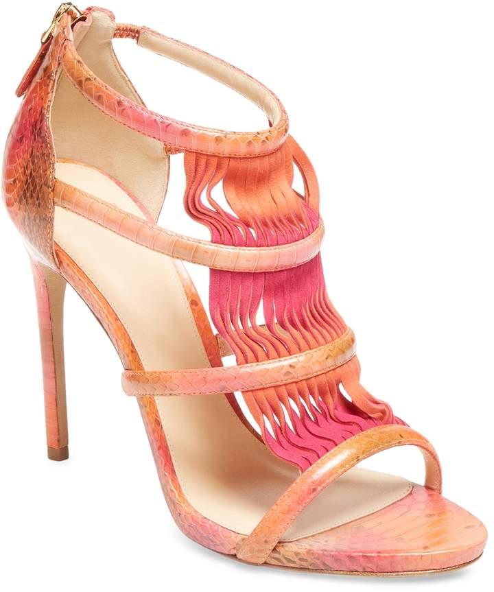 Alexandre Birman Women's Leather High Heel Sandal