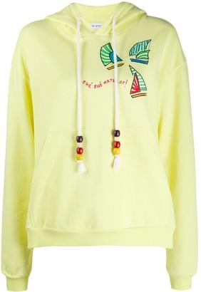 Mira Mikati embroidered hoodie
