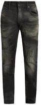 Mastercraft Union Slim Tapered-leg Distressed Jeans