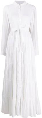 Mes Demoiselles Calam flared shirt dress