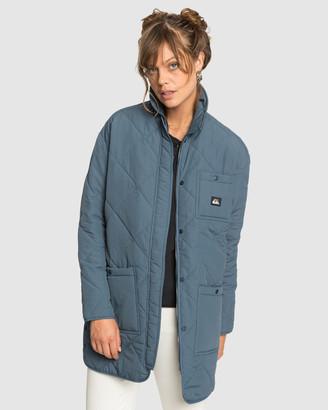 Quiksilver Womens Originals Longline Puffer Jacket