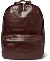 Dries Van Noten Leather Backpack