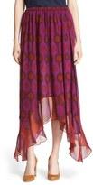 Diane von Furstenberg 'Louella' Silk Maxi Skirt