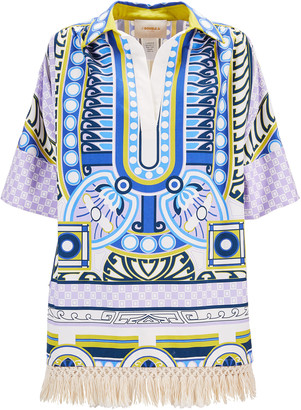 La DoubleJ Honolulu Printed Cotton Tunic