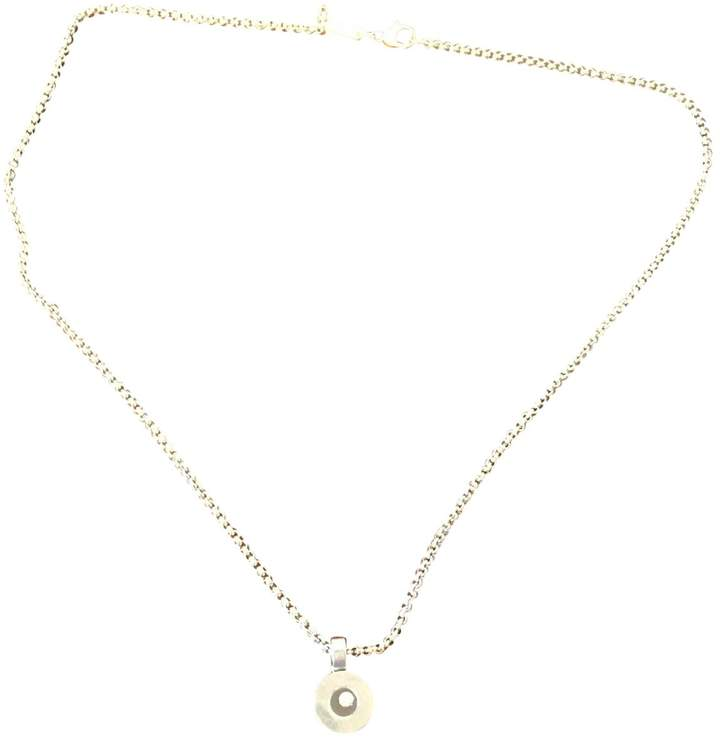 Chopard Happy Diamonds Silver White gold Necklace