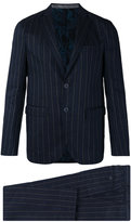 Etro bar stripe two-button suit - men - Silk/Linen/Flax/Polyester/Wool - 50