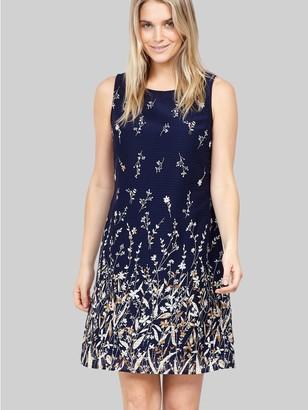 M&Co Izabel botanical shift dress