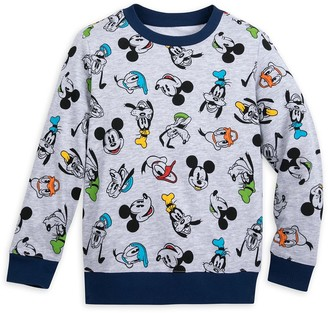 Disney Mickey Mouse and Friends Long Sleeve Pullover for Boys
