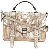 Proenza Schouler PS11 snake effect shoulder bag