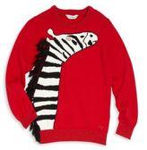 Little Marc Jacobs Toddler's, Little Girl's & Girl's Zebra Knit Sweater