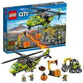 Lego City Volcano Supply Helicopter Set by