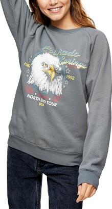 Topshop Cali Eagle Graphic Sweatshirt