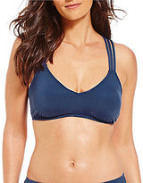 Gibson & Latimer Solid Strappy Bralette Top