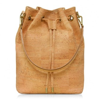 Murmali Gamma Natural Bucket Backpack Vegan Sustainable Bag Handcrafted In Cork Fabric