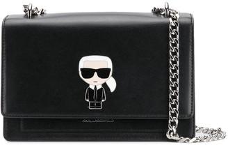 Karl Lagerfeld Paris Ikonik crossbody bag