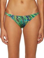 Onia Ashley Skinny Botanical Print Bikini Bottom