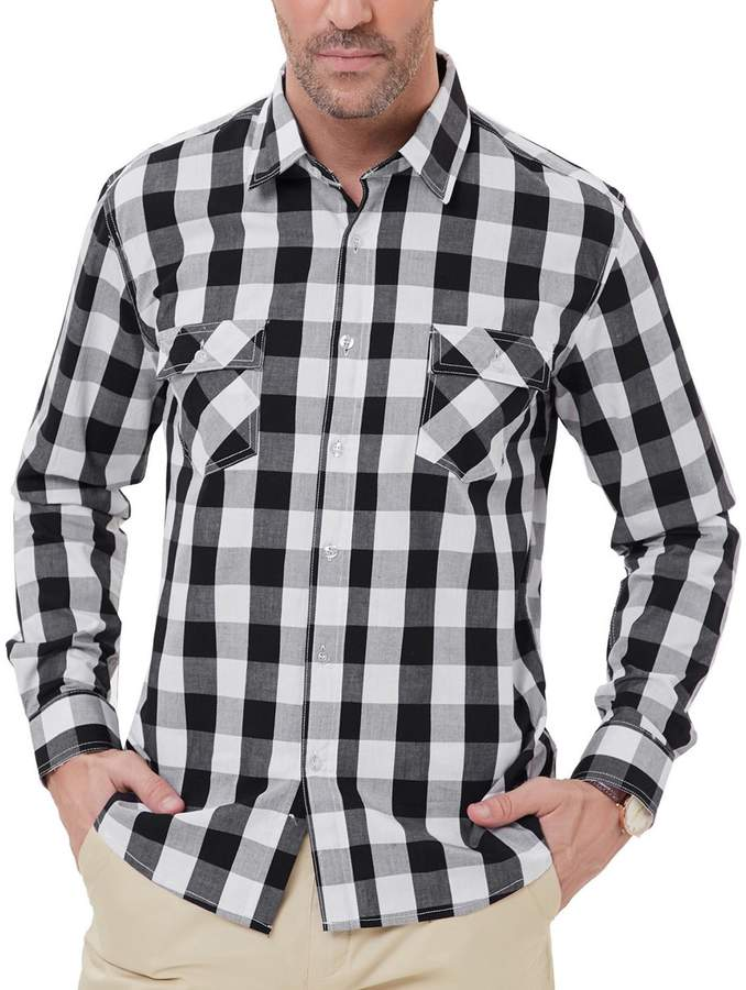 6a9c6b9cb Jones And Jones Black Shirt - ShopStyle Canada