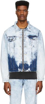 Stolen Girlfriends Club Blue Denim Acid Rain Trucker Jacket