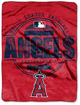 Northwest Company Los Angeles Angels of Anaheim Micro Raschel Structure Blanket