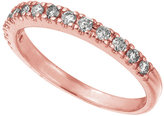 Lord & Taylor Diamond Ring in 14 Kt. Rose Gold