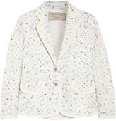 MAISON KITSUNÉ Bouclé-tweed blazer