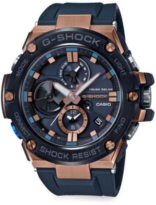 G-Shock Stainless Steel Analog Resin Strap Watch