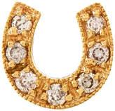 Sydney Evan 14K Mini Starburst Single Stud Earring with Diamonds