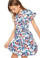 Milly Minis Hibiscus Print Chandlar Dress