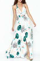 Hommage Floral Maxi Dress