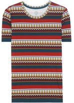 Tory Burch Printed Cotton T-shirt