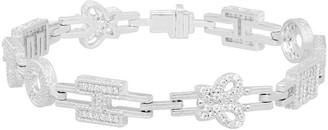 """Judith Ripka Sterling Diamonique Hope 7-1/4"""" Tennis Bracelet"""
