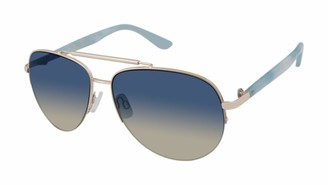 U.S. Polo Assn. U.S. Polo Association Women's PA5030 GLDBL Non Polarized Aviator Sunglasses