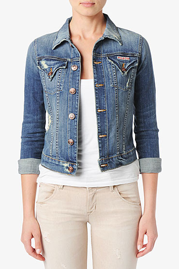 Hudson Jeans Signature Jean Jacket- Vintage Napoli