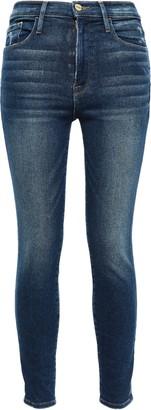 Frame Tellington High-rise Skinny Jeans