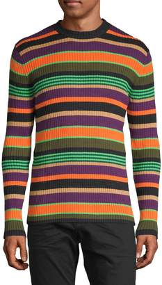 Scotch & Soda Striped Cotton & Wool-Blend Sweater